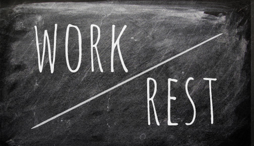 Work and rest are partners